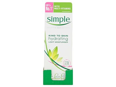 Simple Kind to Skin Hydrating Light Moisturiser 125ml - Image 1