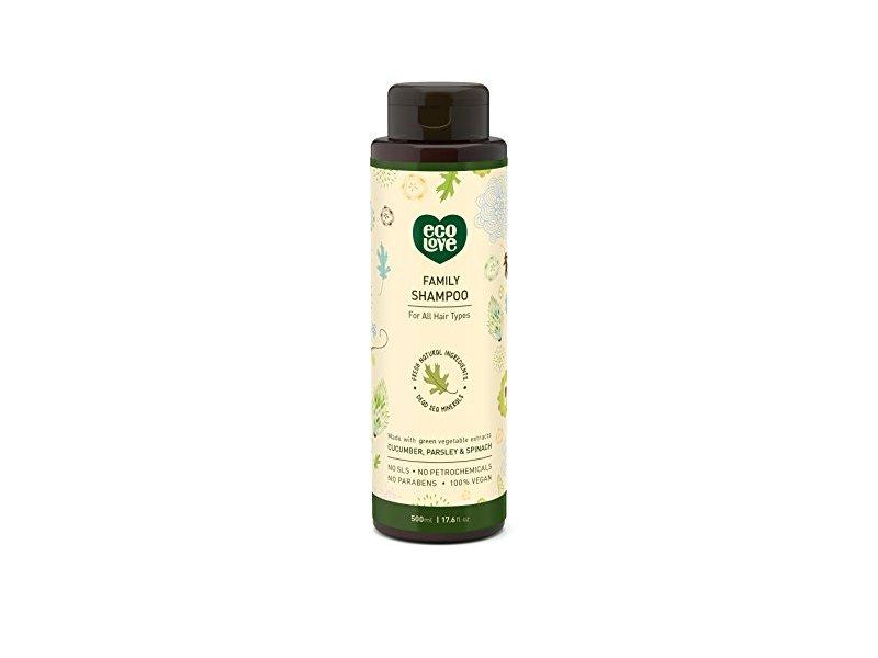 EcoLove Family Shampoo, 17.6 fl oz