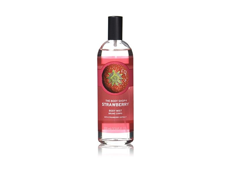 The Body Shop Body Mist, Strawberry, 3.3 fl oz