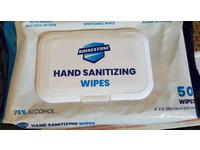 Rhinestone Hand Sanitizing Wipes, 75% Alcohol, 50 Count, Pack Of 2 - Image 3