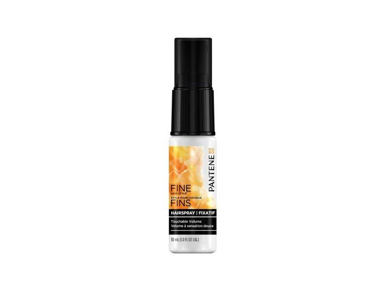 Pantene Fine Hair Touchable Volume Flexible Hold Hairspray - 1 Oz