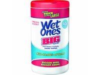 Wet Ones Big Ones Antibacterial Wipes, Fresh Scent, 65 ct - Image 2