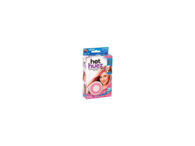 As Seen on TV Hot Huez Temporary Cosmetic-Grade Hair Chalk