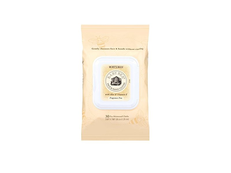 Burt's Bees Baby Bee Face and Hand Cloths, 30 Count