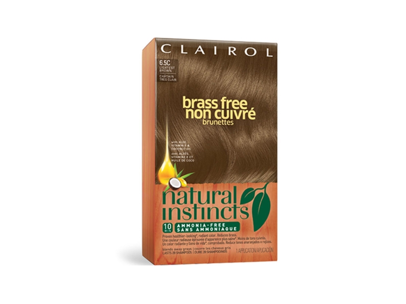 Clairol Natural Instincts Brass Free All Shades Color, Activating Creme, Conditioning Treatment & Revitalize, Procter & Gamble