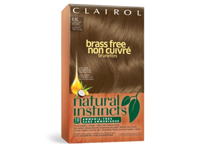 Clairol Natural Instincts Brass Free All Shades Color, Activating Creme, Conditioning Treatment & Revitalize, Procter & Gamble - Image 1