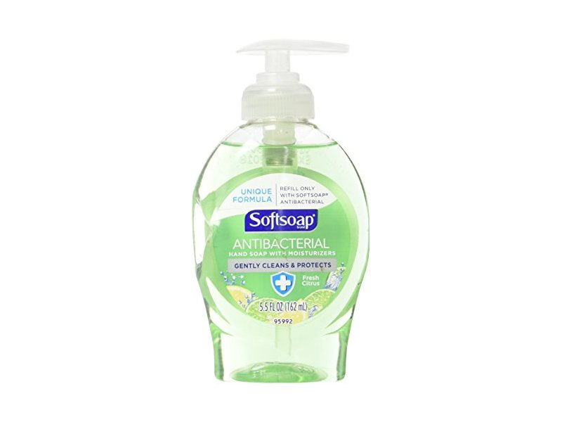 Softsoap Antibacterial Hand Soap with Moisturizers Fresh Citrus, 5.5 oz