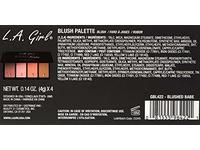 L.A. Girl Fanatic Blush Palette, Blushed Babe Pinks, 1 oz - Image 6