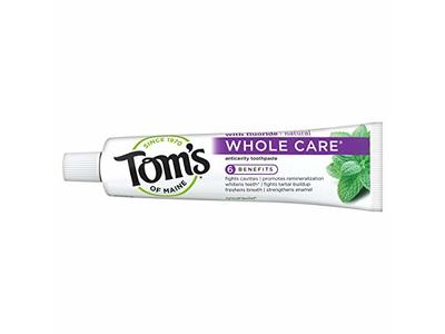 Tom's Of Maine Peppermint Whole Care Toothpaste, 4.0 oz/(113g)