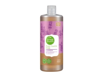 Simple Truth Pure Castile Soap, Lavender, 32 fl oz