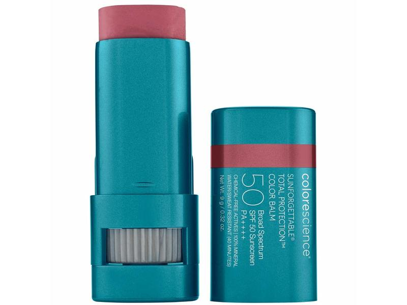 Colorescience Sunforgettable Total Protection Color Balm SPF 50, Berry, 0.32 oz/9 g