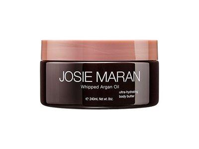 Josie Maran Whipped Argan Oil Body Butter, Unscented, 8 fl oz./240 ml