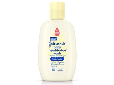 Johnson's Head-To-Toe Baby Wash, Travel Size, 3 Fl. Oz.