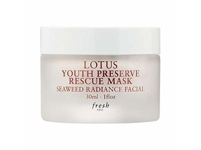 Fresh Lotus Youth Preserve Rescue Mask Seaweed Radiance Facial 1 fl oz / 30 ml