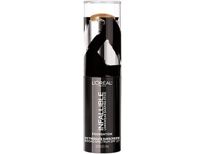 L'Oreal Paris Makeup Infallible Longwear Foundation Shaping Stick, Up to 24hr Wear, Medium to Full Coverage Cream Foundation Stick, 410 Cocoa, 0.3 oz. - Image 8