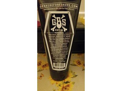 Grave Before Shave Beard Wash Shampoo, 6 oz - Image 5