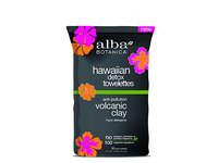 Alba Botanica Hawaiian Detox Towelettes Anti-Pollution Volcanic Clay, 30 Count - Image 2