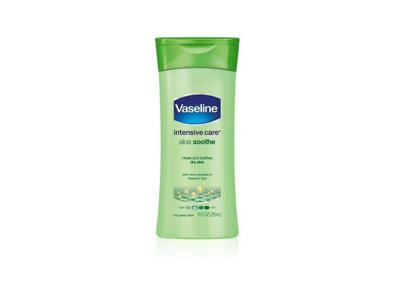 Vaseline Intensive Care Lotion, Aloe Soothe, 13 fl oz