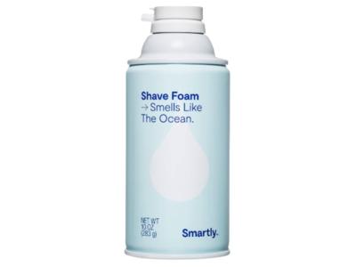Smartly Shave Foam, Smells Like The Ocean, 10 oz