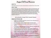 100% Pure Organic Moroccan Argan Oil - 4oz - Image 6