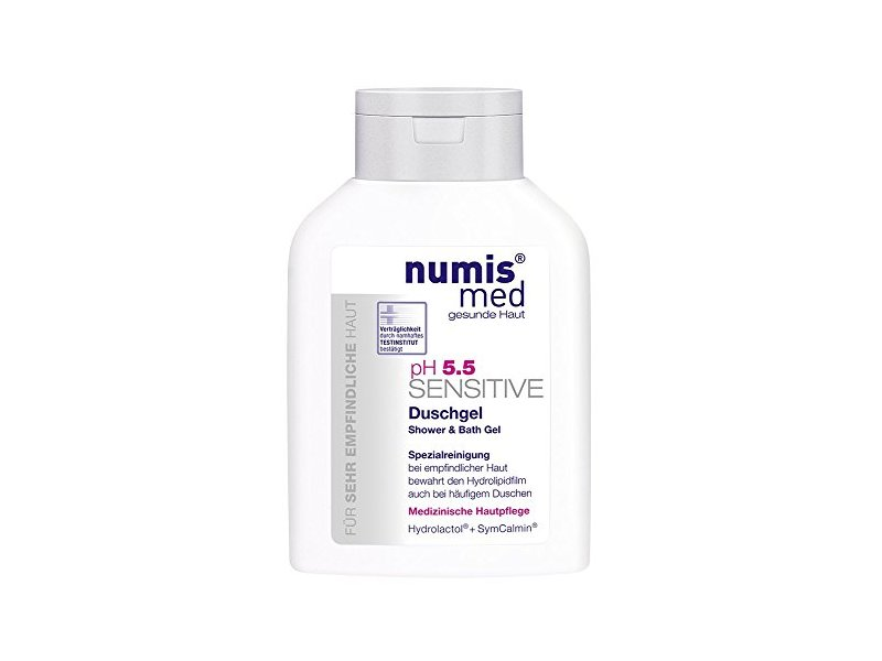 Numis Med pH 5.5 Sensitive Shower & Bath Gel, 200 mL