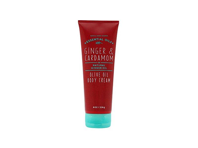 Bath & Body Works Oilve Oil Body Cream, Ginger & Cardamom, 8 oz
