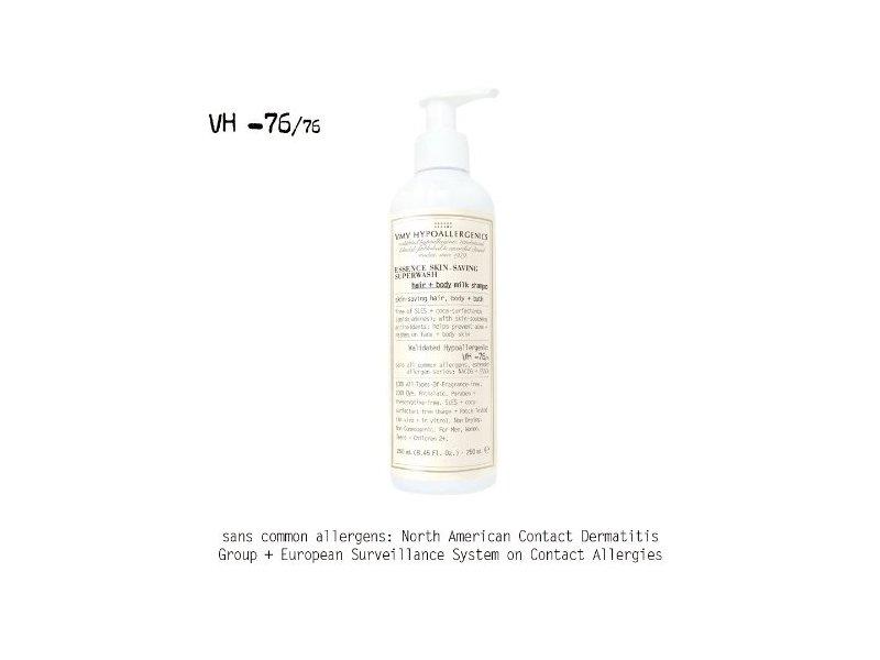Essence Skin-Saving Superwash: Hair + Body Milk Shampoo 500 mL