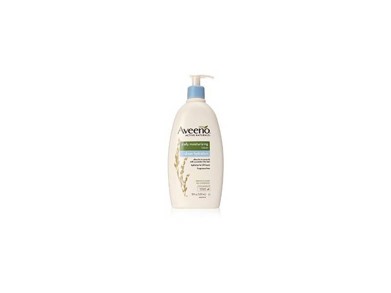 Aveeno Active Naturals Daily Moisturizing Sheer Hydration Lotion, 12 fl oz