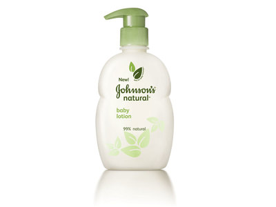 Johnson's Natural Baby Lotion, Johnson & Johnson - Image 1