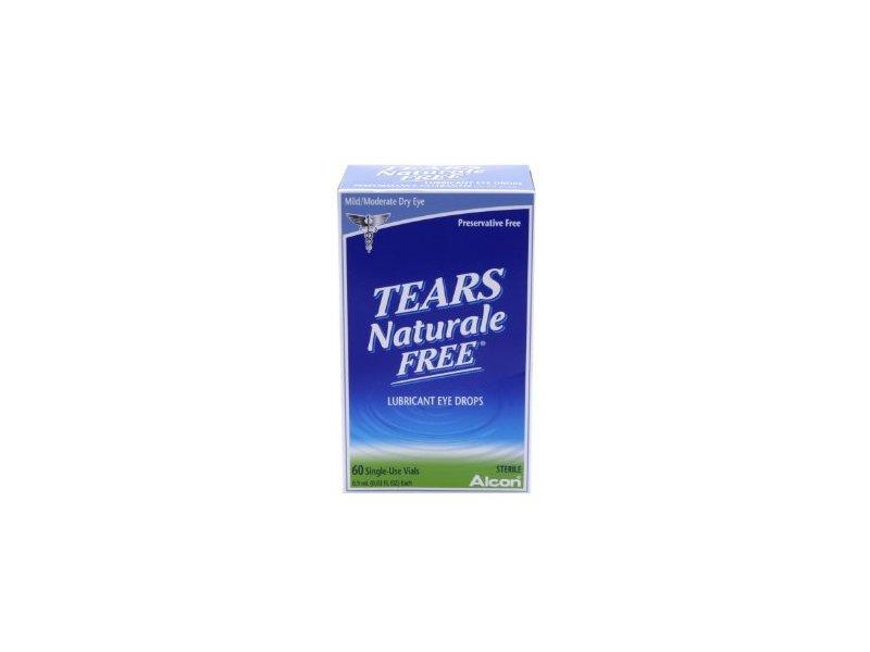 Tears Naturale Free Lubricant Eye Drops Single Use Vials, 60 X 0.03OZ