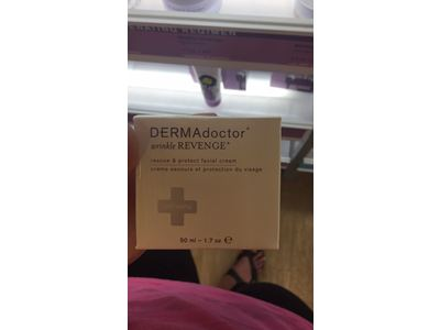 DERMAdoctor Wrinkle REVENGE Rescue & Protect Facial Cream - Image 3