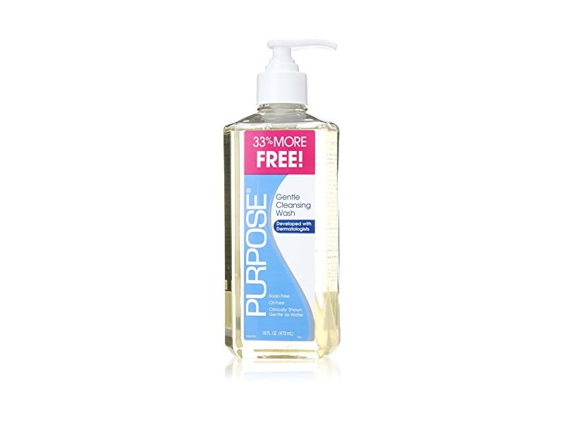 Purpose Gentle Cleansing Wash, 16 Ounce