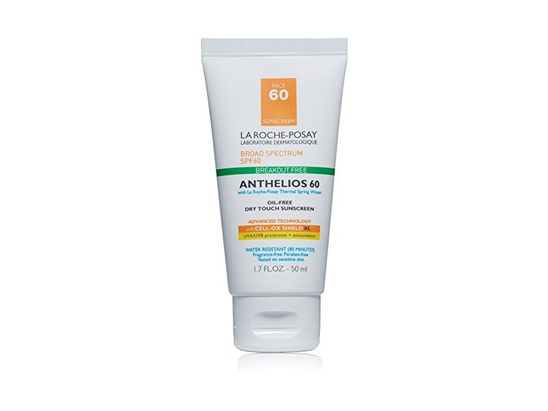 La Roche-Posay Anthelios Clear Skin Dry Touch Sunscreen, SPF 60, 1.7 fl. oz.
