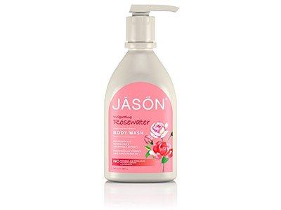 Jason Body Care Invigorating Rosewater Body Wash, 30 oz - Image 1