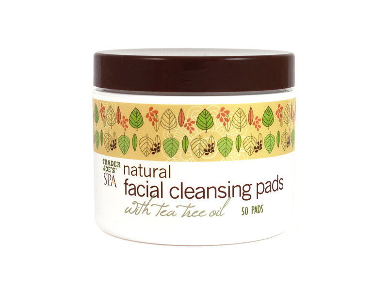 Trader Joe's Spa Natural Facial Cleansing Pads with Tea Tree Oil