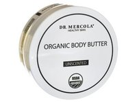 Dr. Mercola Organic Body Butter, Unscented, 4 oz - Image 2
