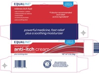 Equaline Anti-Itch Cream with Healing Aloe, 2 oz - Image 5