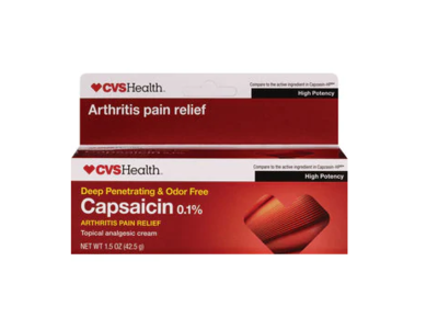 CVS Health Capsaicin 0.1%, 1.5 oz