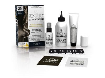 Eric Favre Paris Aequo Permanent Hair Color with Natural Ingredients, Caviar Black
