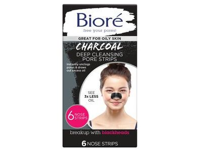Biore Deep Cleansing Charcoal Strips