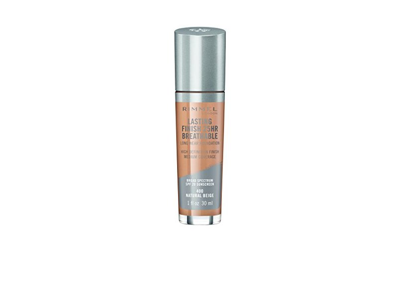 Rimmel Lasting Finish Breathable Foundation, Natural Beige, 1 Fluid Ounce