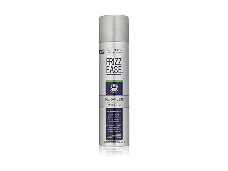 John Frieda Frizz Ease KeraFlex Hairspray, Flexible Hold, 13 oz