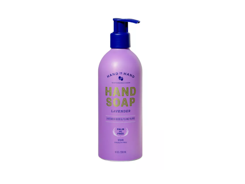 Hand In Hand Body Wash, Lavender, 10 oz/288 mL