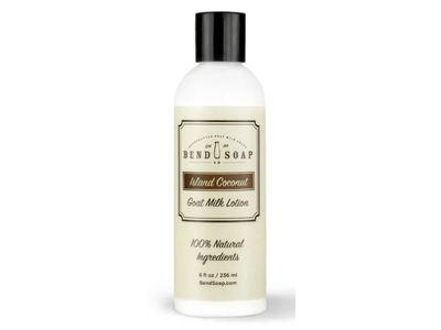 Bend Soap Co Goat Milk Lotion, Island Coconut, 8 fl oz