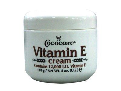 Cococare Vitamin E Cream, 12000 IU, 4 Ounce