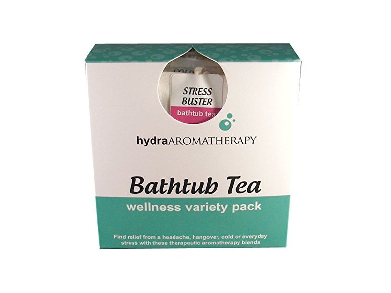 Hydra Aromatherapy Bathtub Tea Wellness Variety Pack, Hangover Buster, 0.25 oz