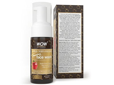 Wow Apple Cider Vinegar Foaming Face Wash, 100ml - Image 5