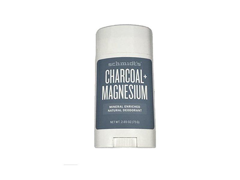 Schmidt's Natural Charcoal+Magnesium Mineral Enriched Deodorant, 2.65 oz