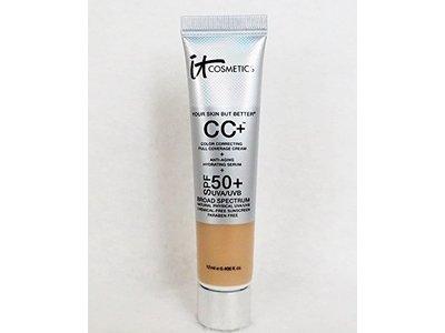 it Cosmetics Your Skin But Better CC Cream, SPF 50+, Light, 0.406 oz