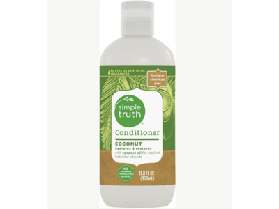 Simple Truth Hydrating Conditioner, Coconut, 11.8 fl oz